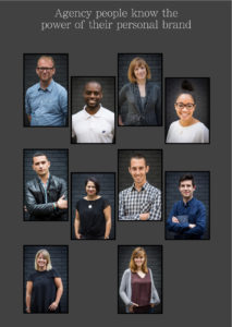 UX agency outdoor portraits headshots for design